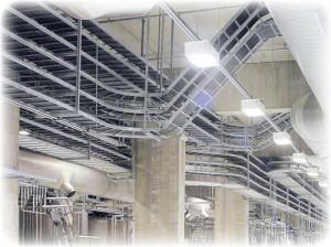 Кабельные эстакады на производственных комплексах-1