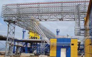 Кабельные эстакады на производственных перерабатывающих коплексах