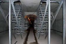 Кабельные эстакады в тонелях шахтах