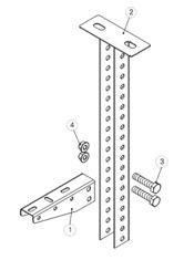 Крепление консоли подвеса настенного (КПН) к подвесу потолочному (СПС)1