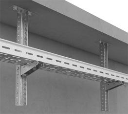 Крепление консоли подвеса настенного (КПН) к подвесу потолочному (СПС)2